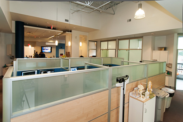 Inside Rebalance clinic office