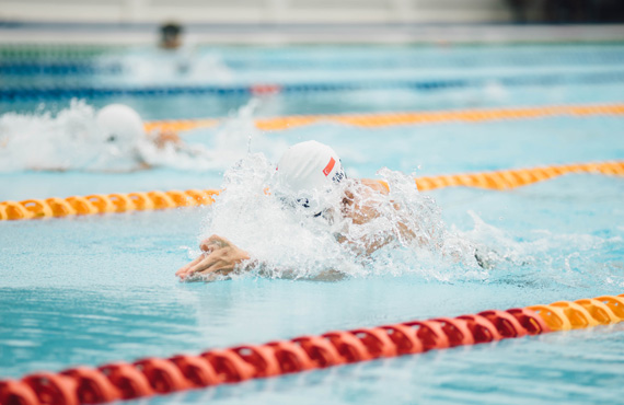 Swimming exercise active lifestyle