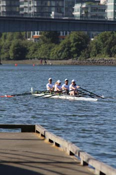 Rebalance staff rowing challenge