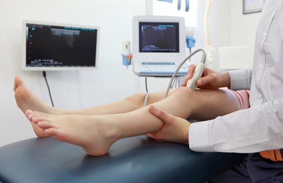 Knee ultrasound